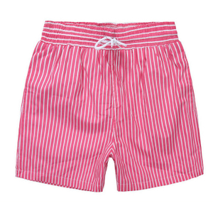 Wholesale Colorful Stripes Printed Men's Trunk 2021 Trend Swimming Shorts