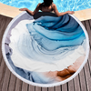 Wholesale Custom Marble Quick Dry Round Microfiber Beach Towel 2020