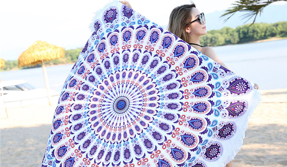 Make A Tie-dye Beach Towel